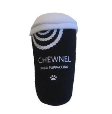"Chewnel Koko Boutique Coffee ""Puppaccino"" Dog Toy"