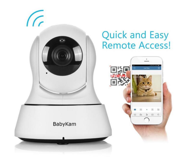 HD In Home WiFi Pet Camera with Night Vision