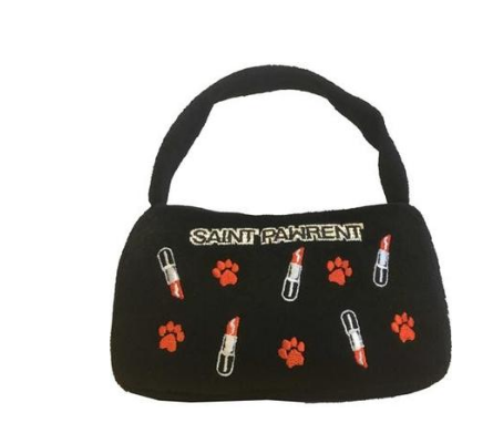 Saint Pawrent Lipstick Toy Handbag for Dogs