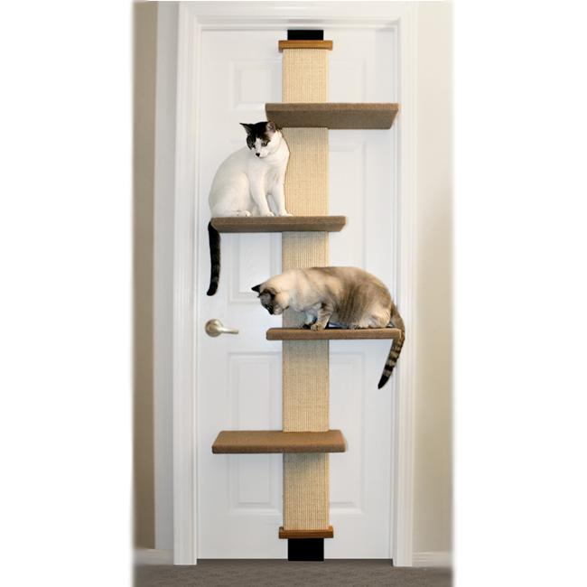 Tall Multi-Level Door Hanger Cat Climber at Pet Stop Store