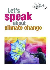 Let's speak about climate change booklet