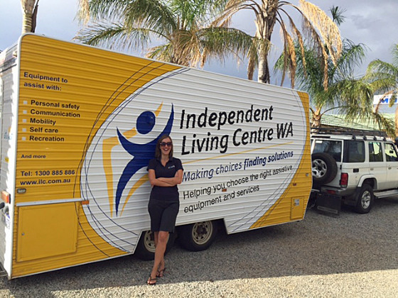 ILC Caravan in the Wheatbelt
