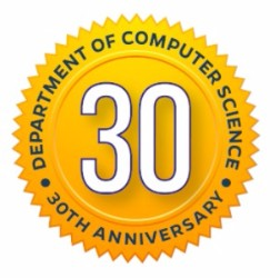 JHU Computer Science 30th Anniversary Logo