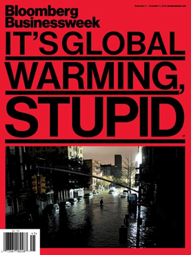 "Bloomberg Businessweek´s cover: ""It´s global warming stupid"""