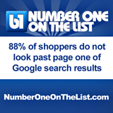 page one of google search results