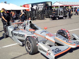 Will Power's winning IndyCar