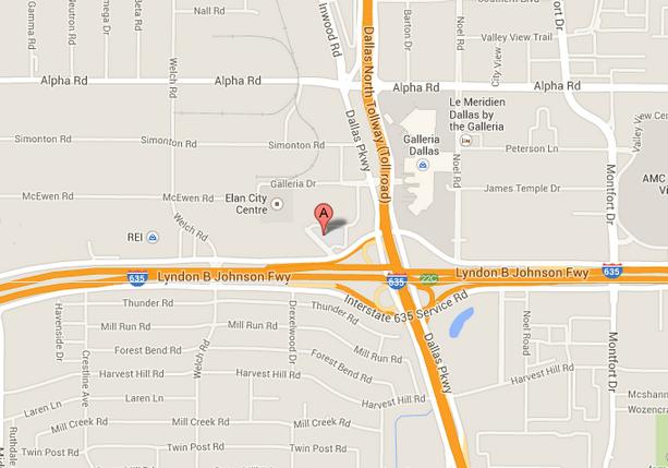 4851 Lydon B Johnson Freeway in Dallas