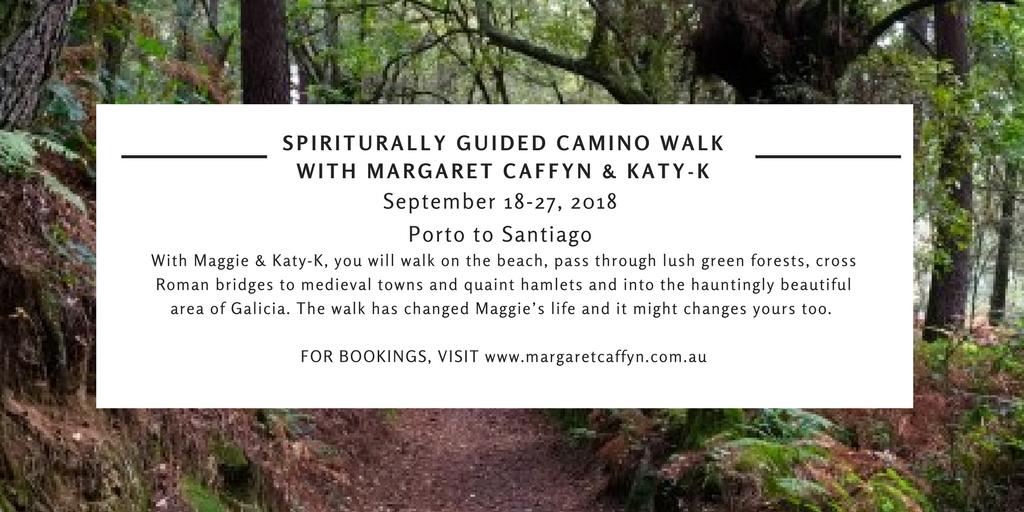 Spiritually guided Camino walk with Margaret Caffyn & Katy-K