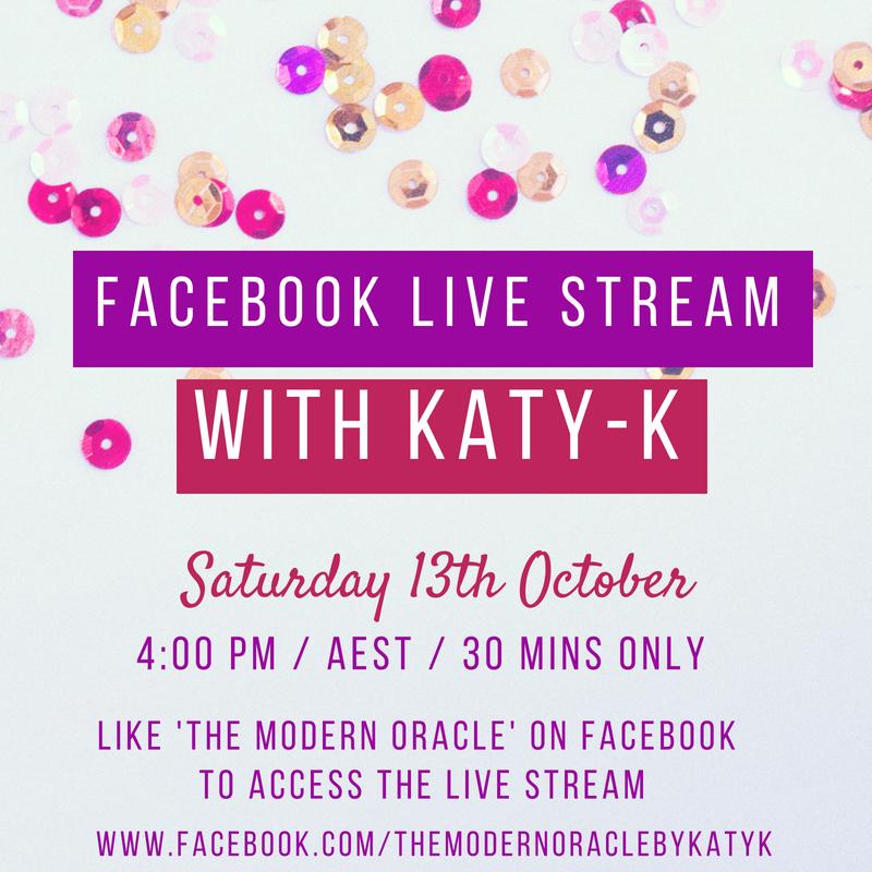 Katy-K's Psychic LiveStream on Facebook