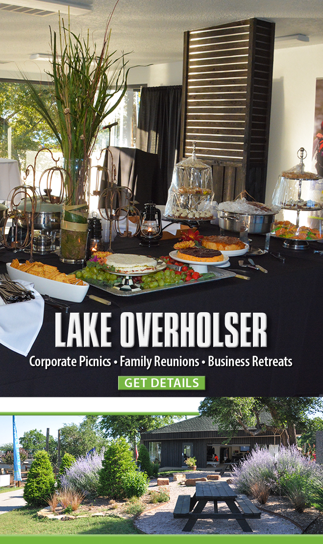 Lake Overholser private event space