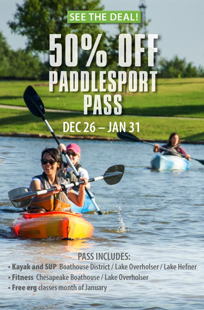 50% Paddlesport Pass