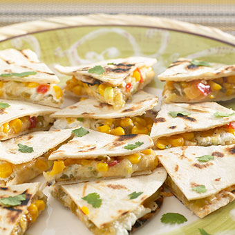 Stonewall Kitchen Goat Cheese Green Chile Quesadillas