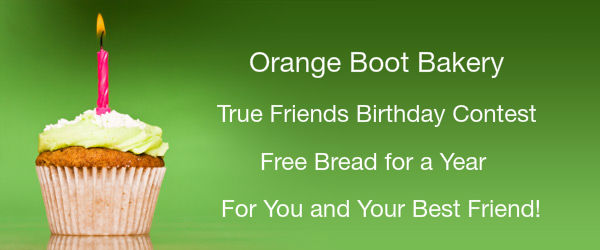 Orange Boot Bakery 1st Birthday Contest