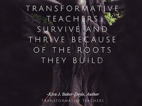 Book cover for Transformative Teachers: Teacher Leadership and Learning in a Connected World