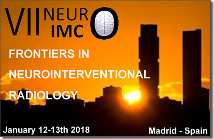 Neurosurgical TV Broadcasting LIVE NeuroInterventional Radiology Conference from Madrid LIVE in about an hour HERE
