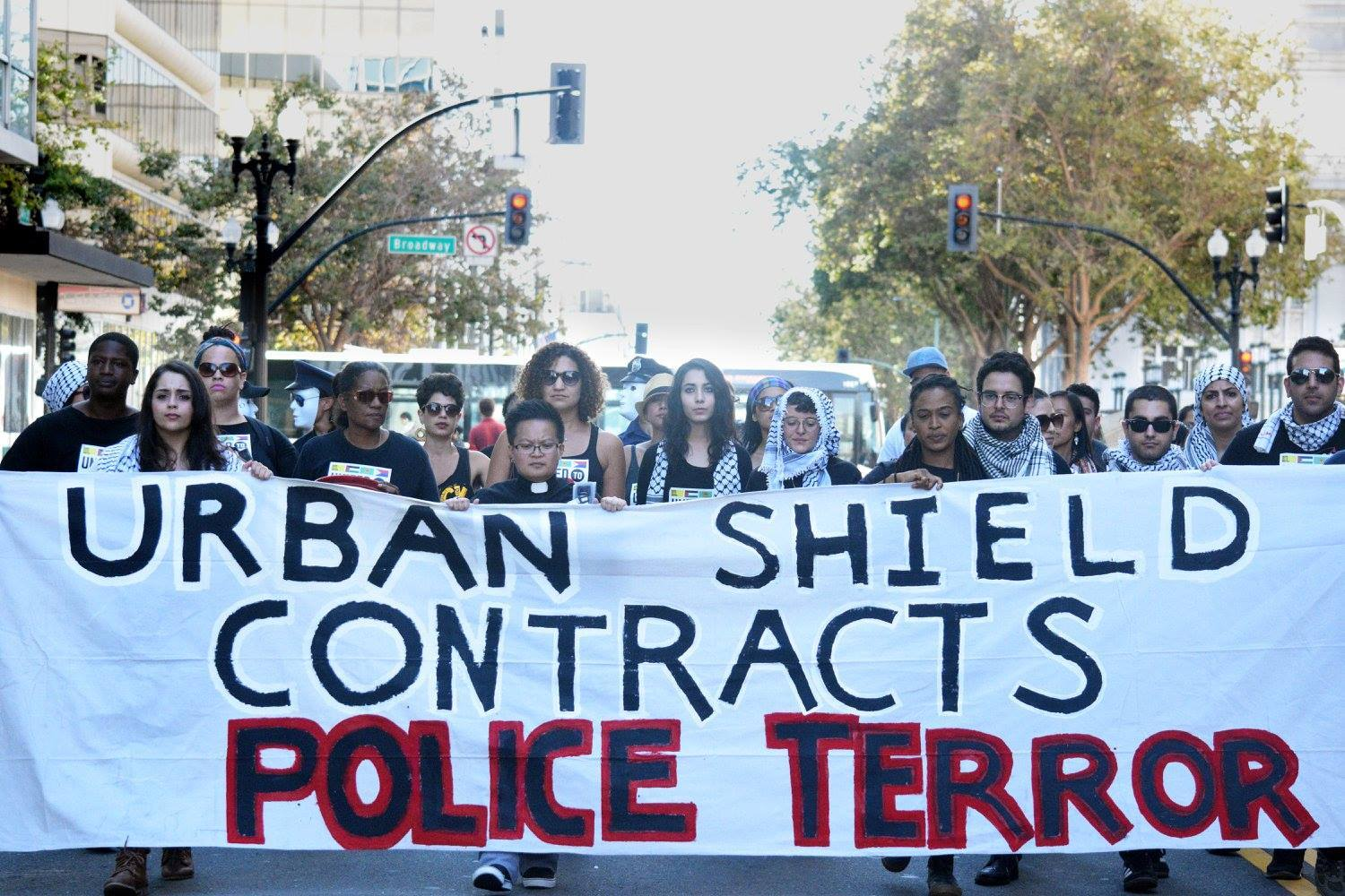 No to Urban Shield! Come Demand an End to Militarization in Berkeley @ Longfellow School | Berkeley | California | United States