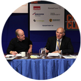 Andrew Simms and Vince Cable