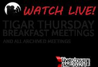 Watch TIGAR Breakfast Meetings on Livestream!