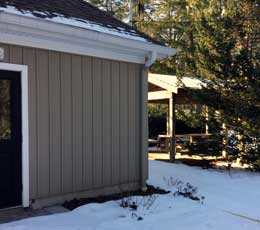 KCE & Pavilion in winter