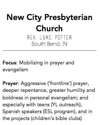 New City Presbyterian Church, South Bend IN