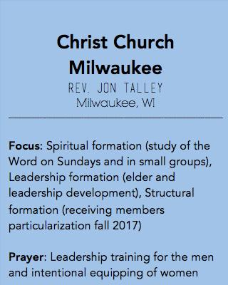 Christ Church Milwaukee, Milwaukee WI