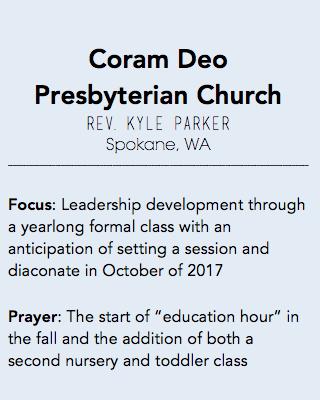 Coram Deo, Spokane WA