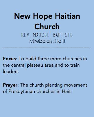 New Hope Haitian Church, Mirebalais Haiti