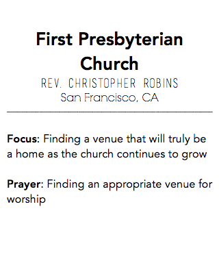 First Presbyterian Church, San Francisco CA