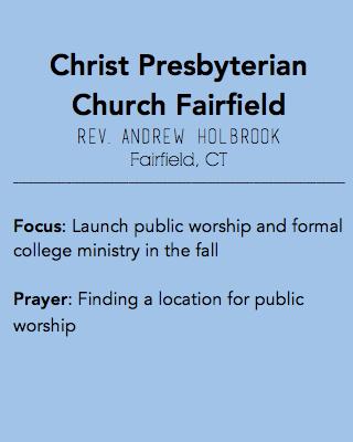 Christ Presbyterian Church Fairfield, Fairfield CT