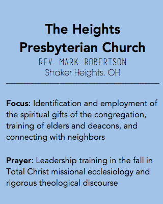 The Heights Presbyterian Church, Shaker Heights OH