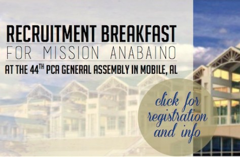 Recruitment Breakfast for Mission Anabaino