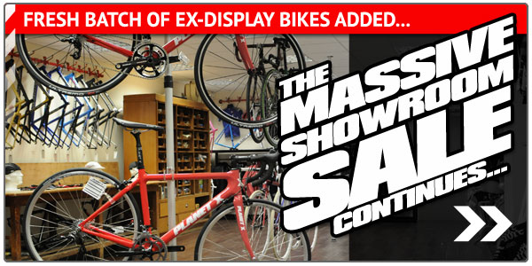 The Massive Showroom Sale continues... Fresh batch of Ex Display bikes added!