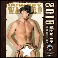 "2018 ""Cowboy WANTED"" full nude calendar"