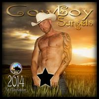 "2014 ""Cowboy Sunsets"" full nude calendar"
