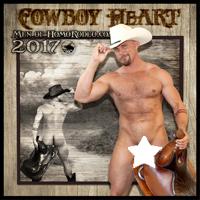"2017 ""Cowboy HeART"" full nude calendar"