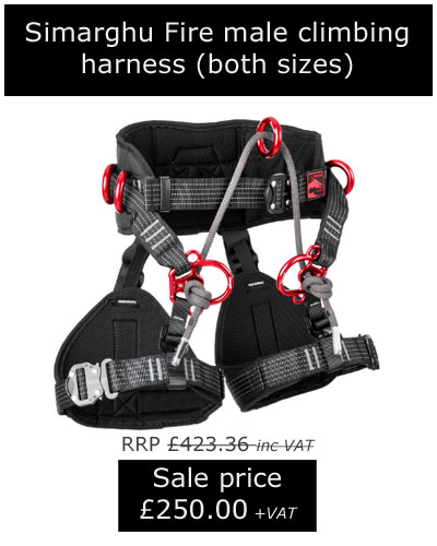 Simarghu Fire male harness, now only £250.00 +VAT!