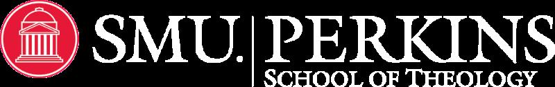 SMU Perkins Logo White