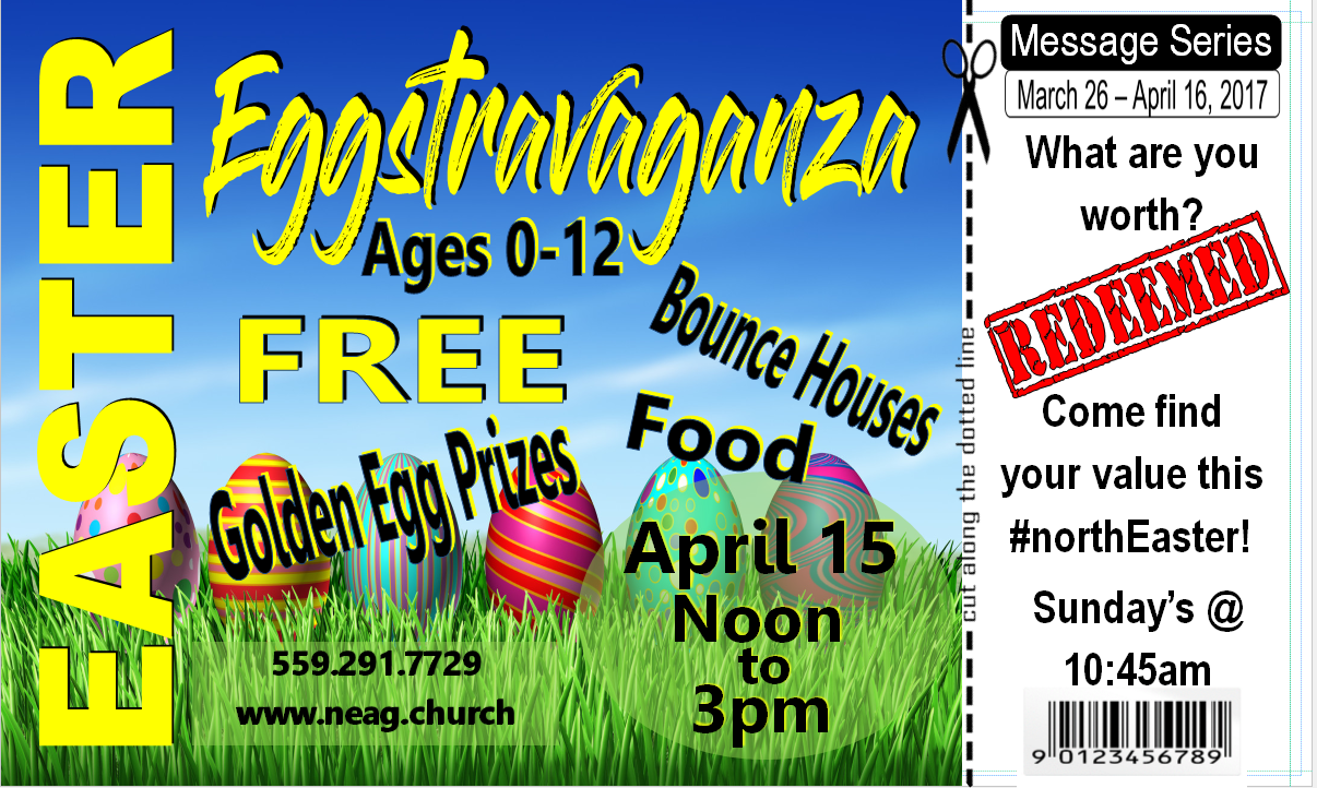 #northEaster Eggstravaganza @ Northeast Assembly of God | Fresno | California | United States