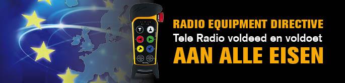 RED: Tele radio voldeed en voldoet aan alle eisen.