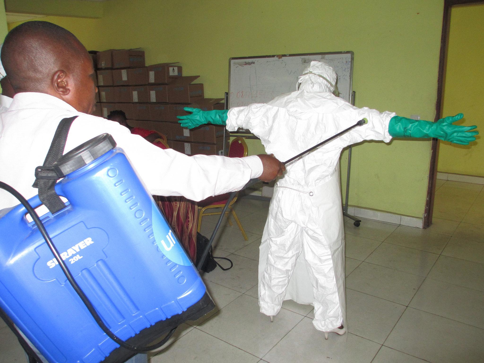 Decontamination training
