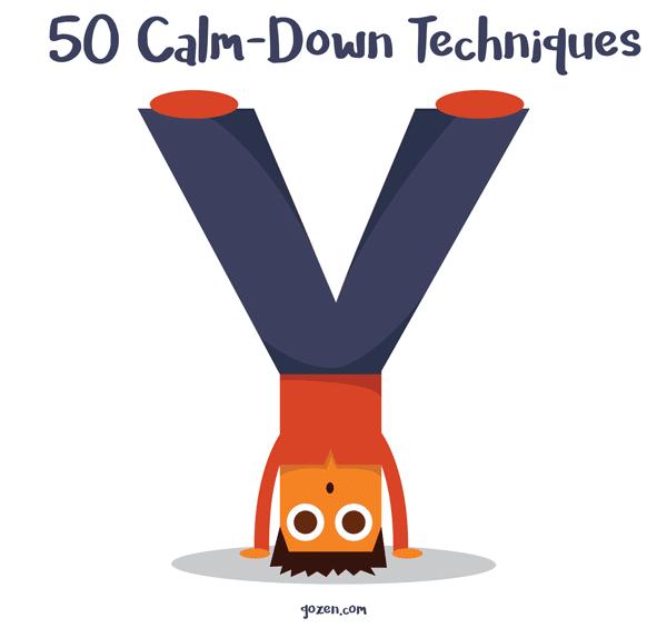 50 calm-down techniques