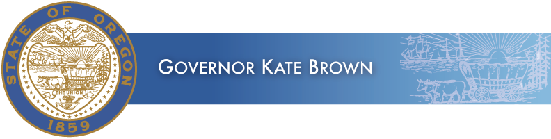 GOVERNOR KATE BROWN PRESS RELEASE