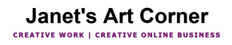 janets art corner