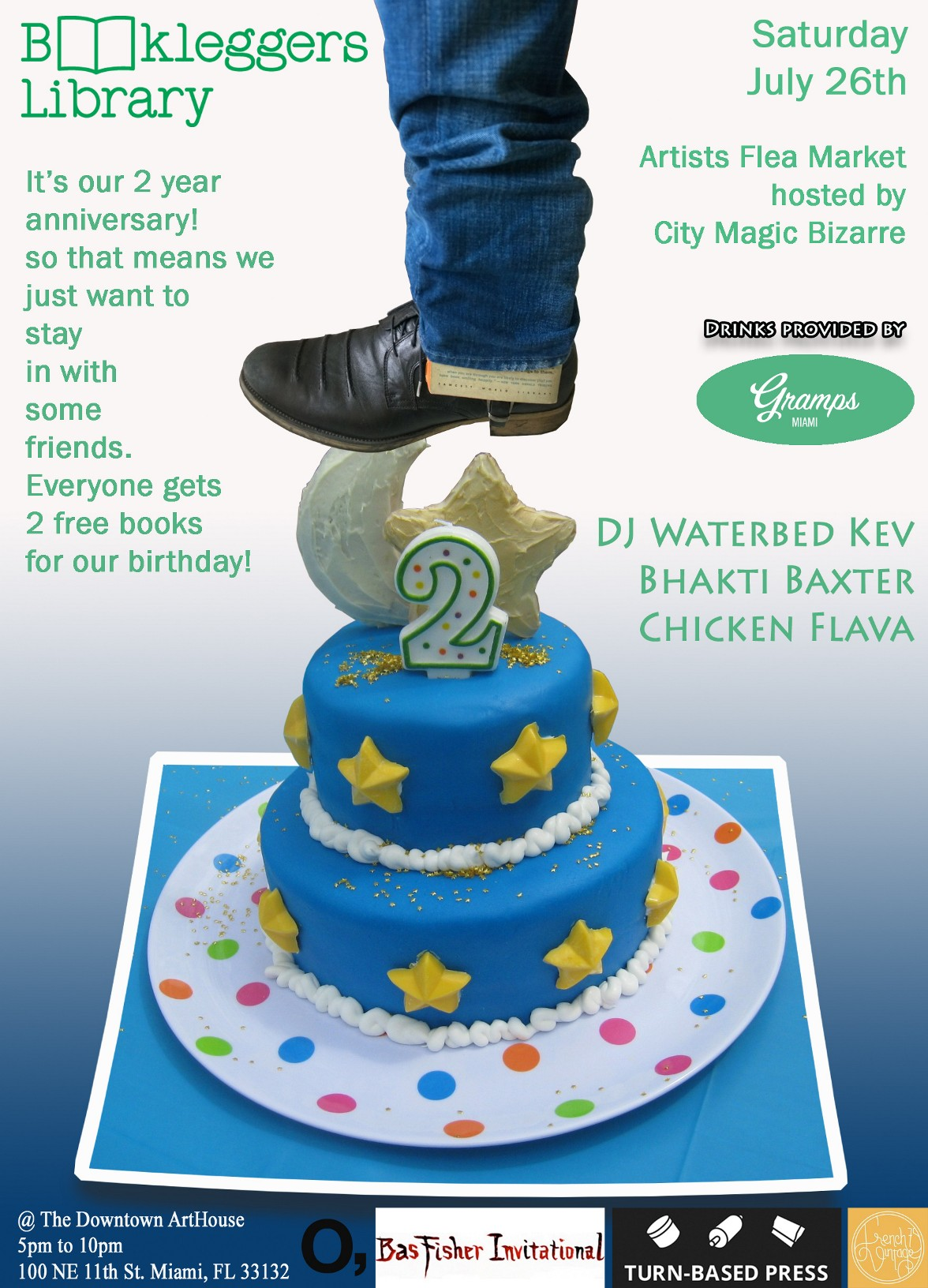2 Year Anniversary at Downtown ArtHouse