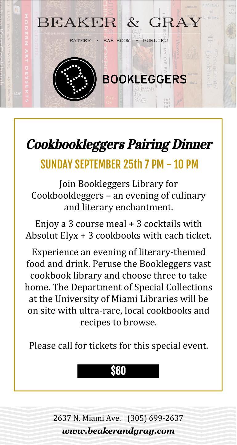 Cookbookleggers