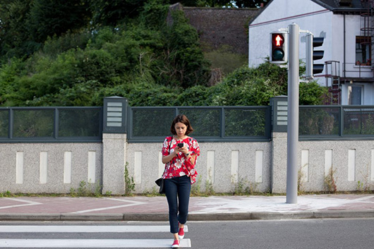Distracted pedestrians walk slower and are less steady on their feet: UBC study