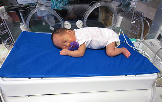 Robot an effective pain management tool for premature babies