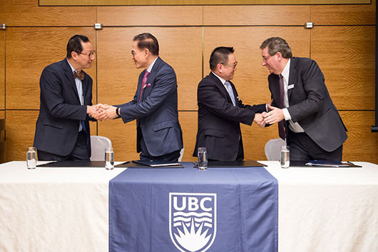 Healthy aging research at UBC expands with $24-million gift