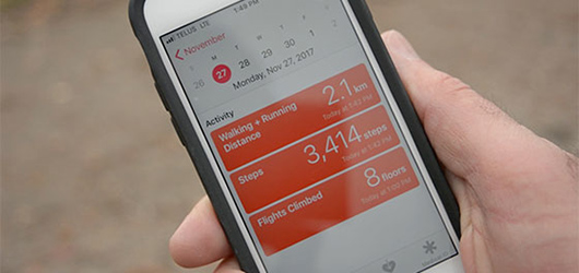 Smartphone health apps miss some daily activity of users