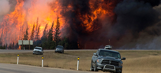 The psychological impact of wildfires